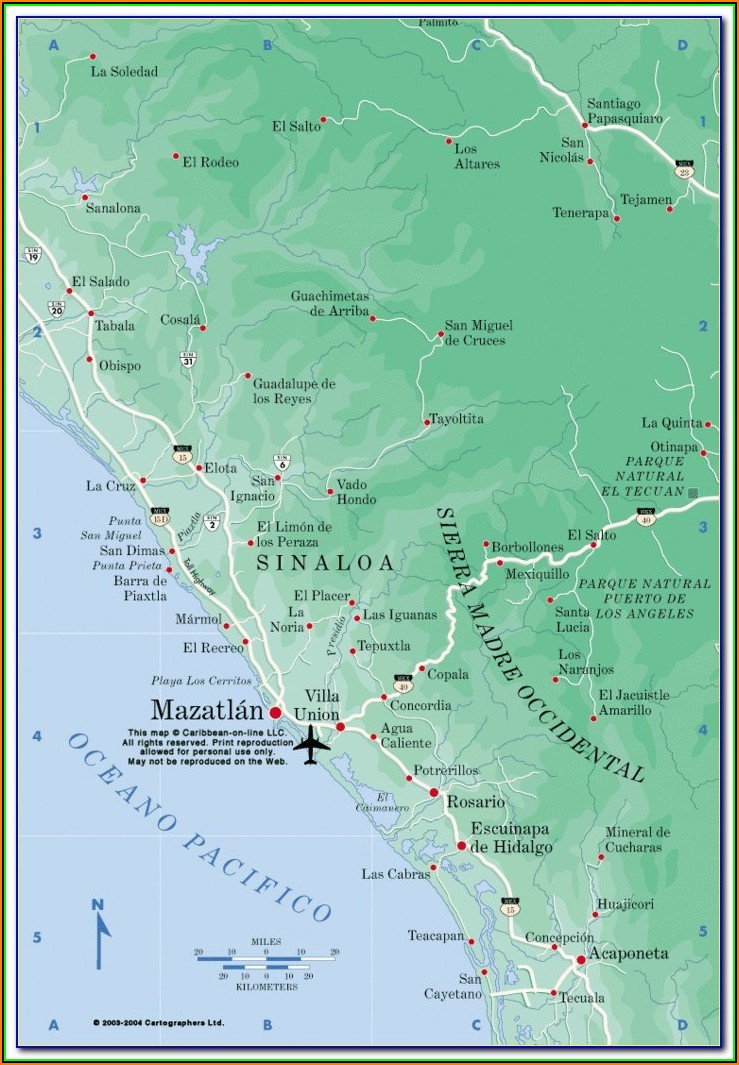 Map Of Hotels In Cabo San Lucas Mexico