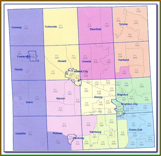 Map Of Livingston County Illinois
