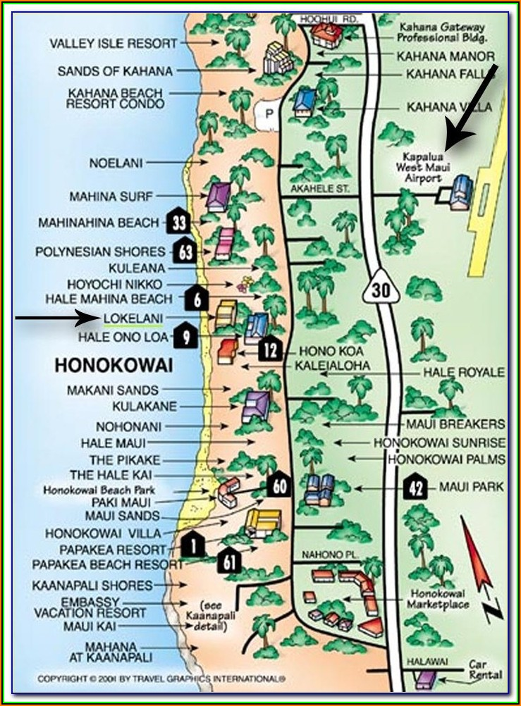 Map Of Panama City Beach Hotels And Condos