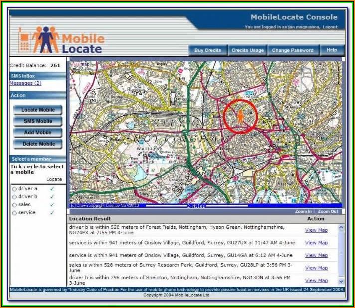 Mapquest Cell Phone Locator