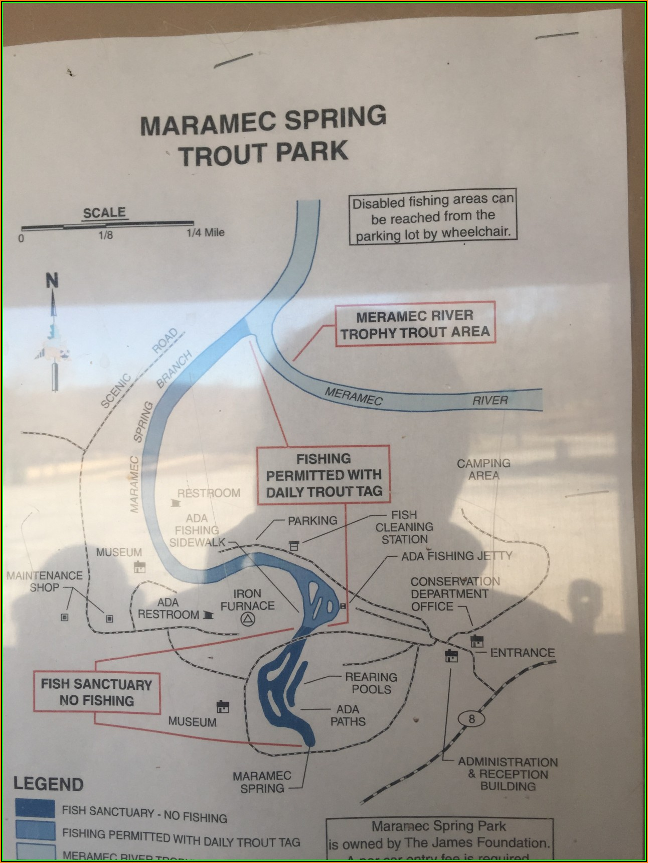 Maramec Springs Map