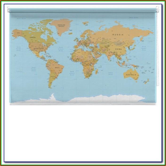 Marauders Map Roller Blind