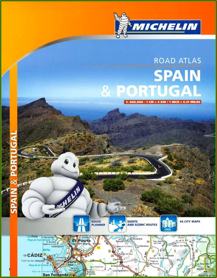 Michelin Maps Spain And Portugal