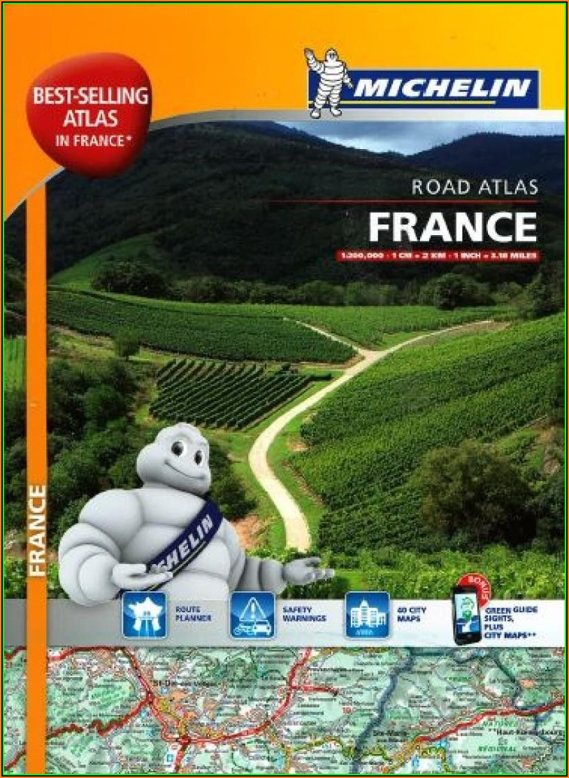 Michelin Road Maps France