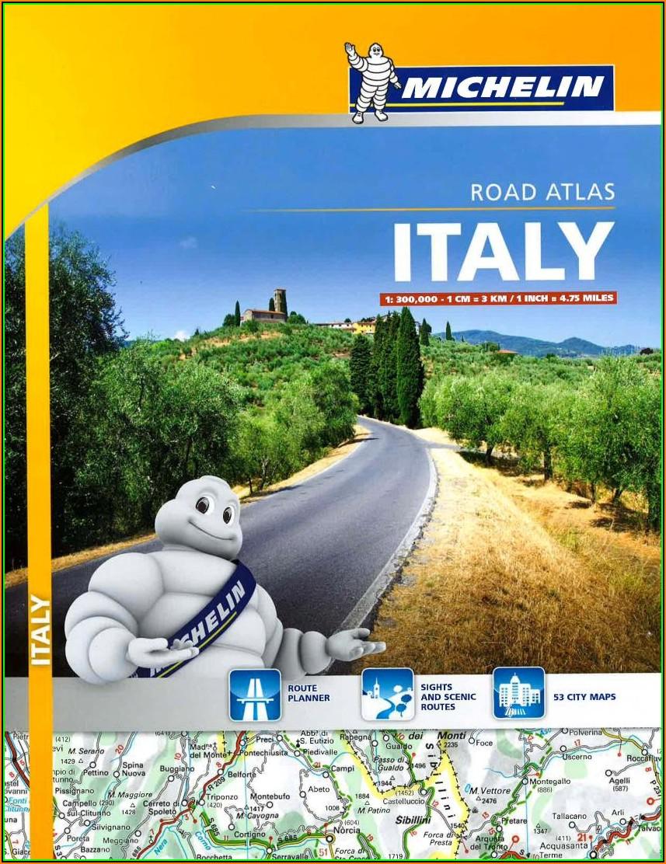 Michelin Road Maps Italy