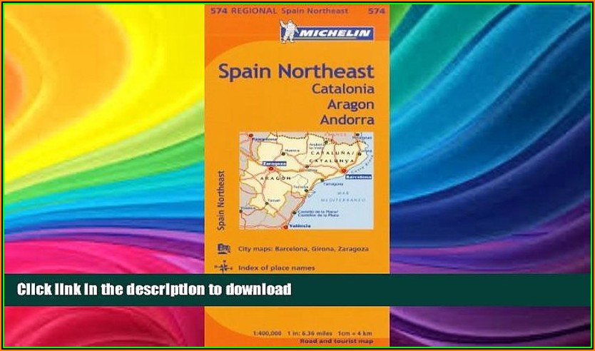 Michelin Spain Map 574