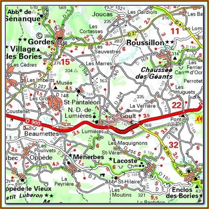 Michelin Star Restaurants Provence Map