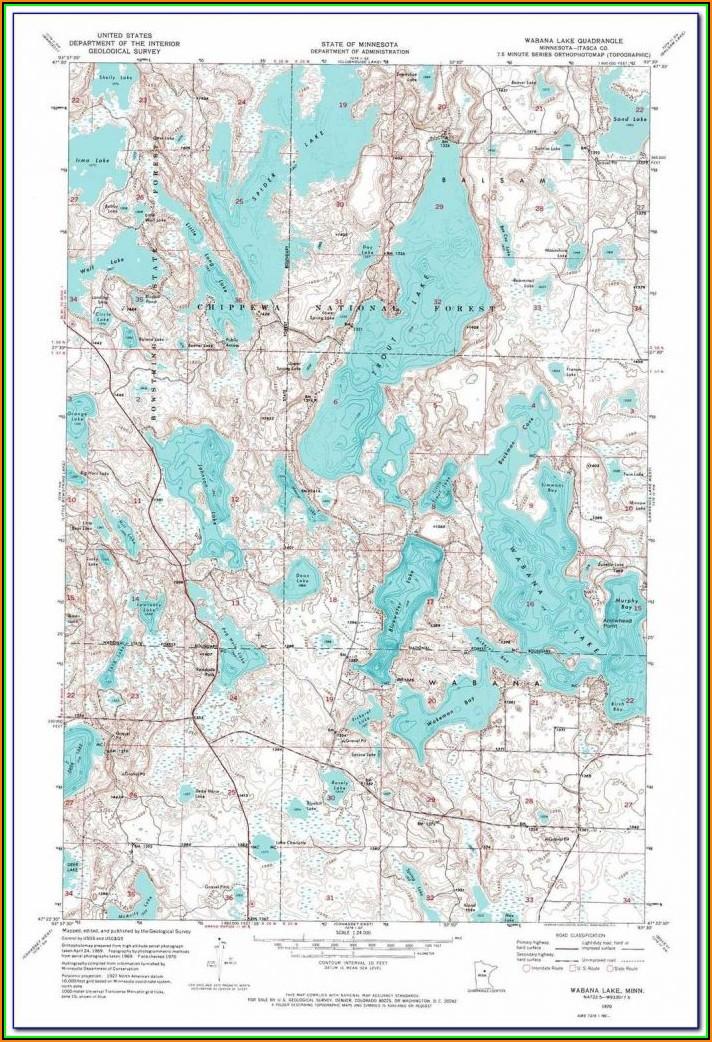 Minnesota Dnr Lake Maps App