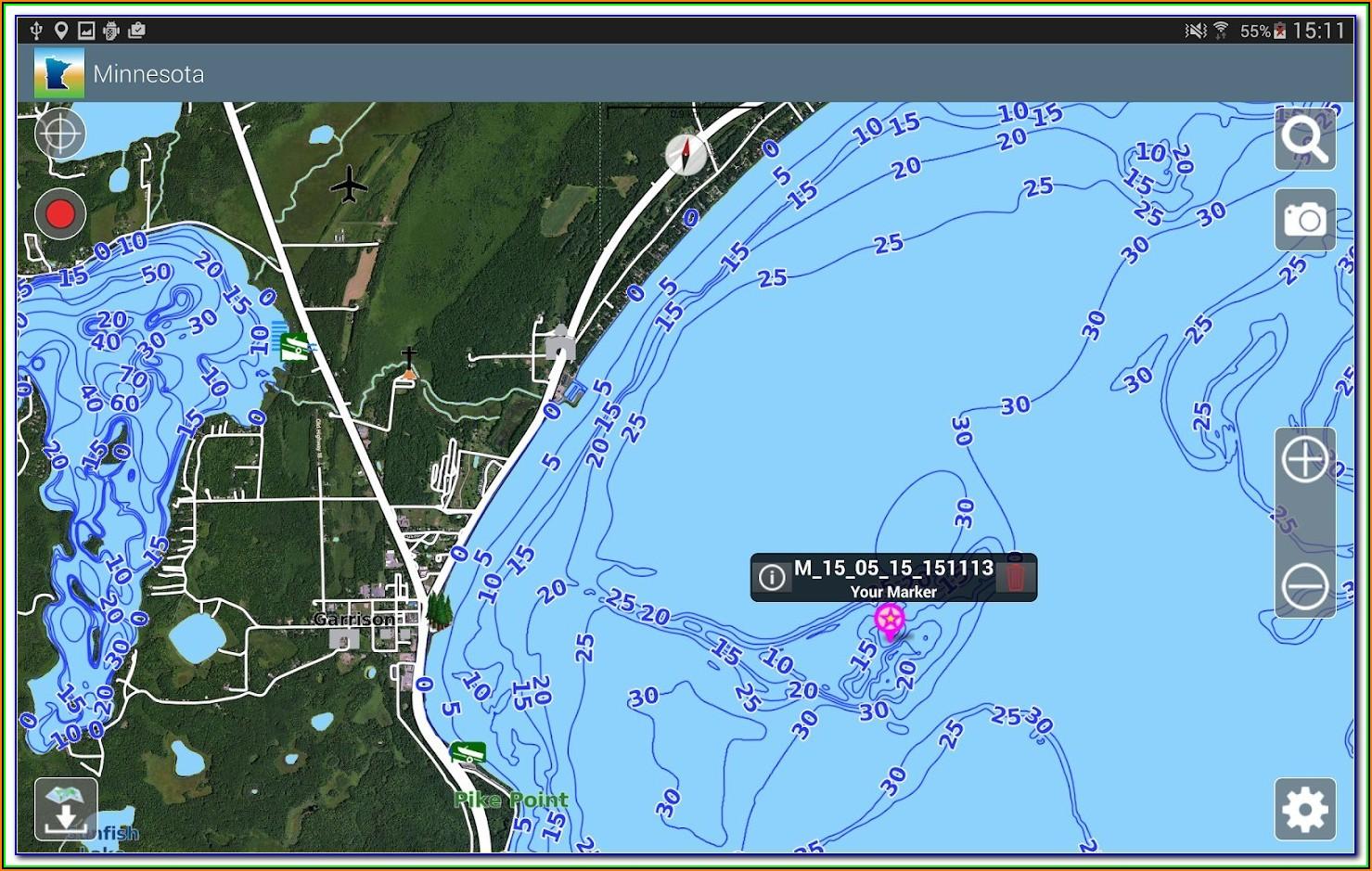 Mn Lake Maps App