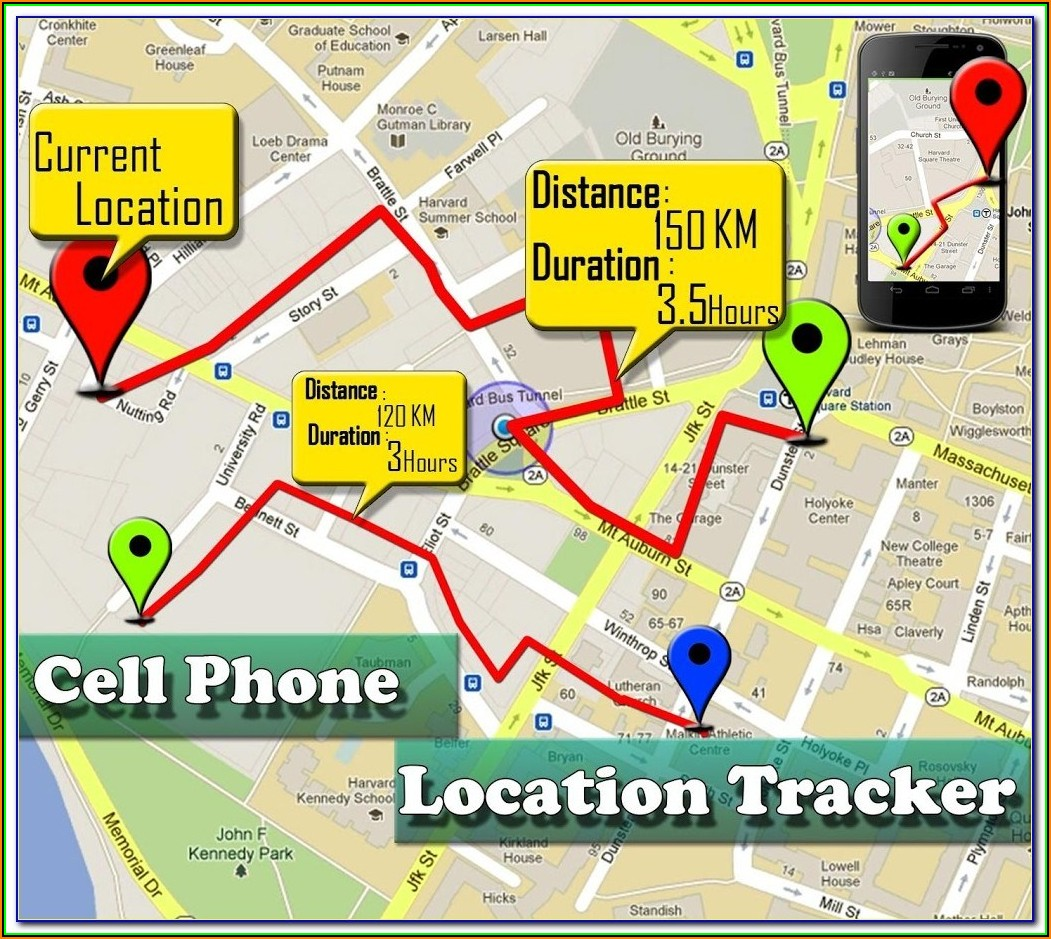 Mobile Cell Phone Number Location Map Tracking