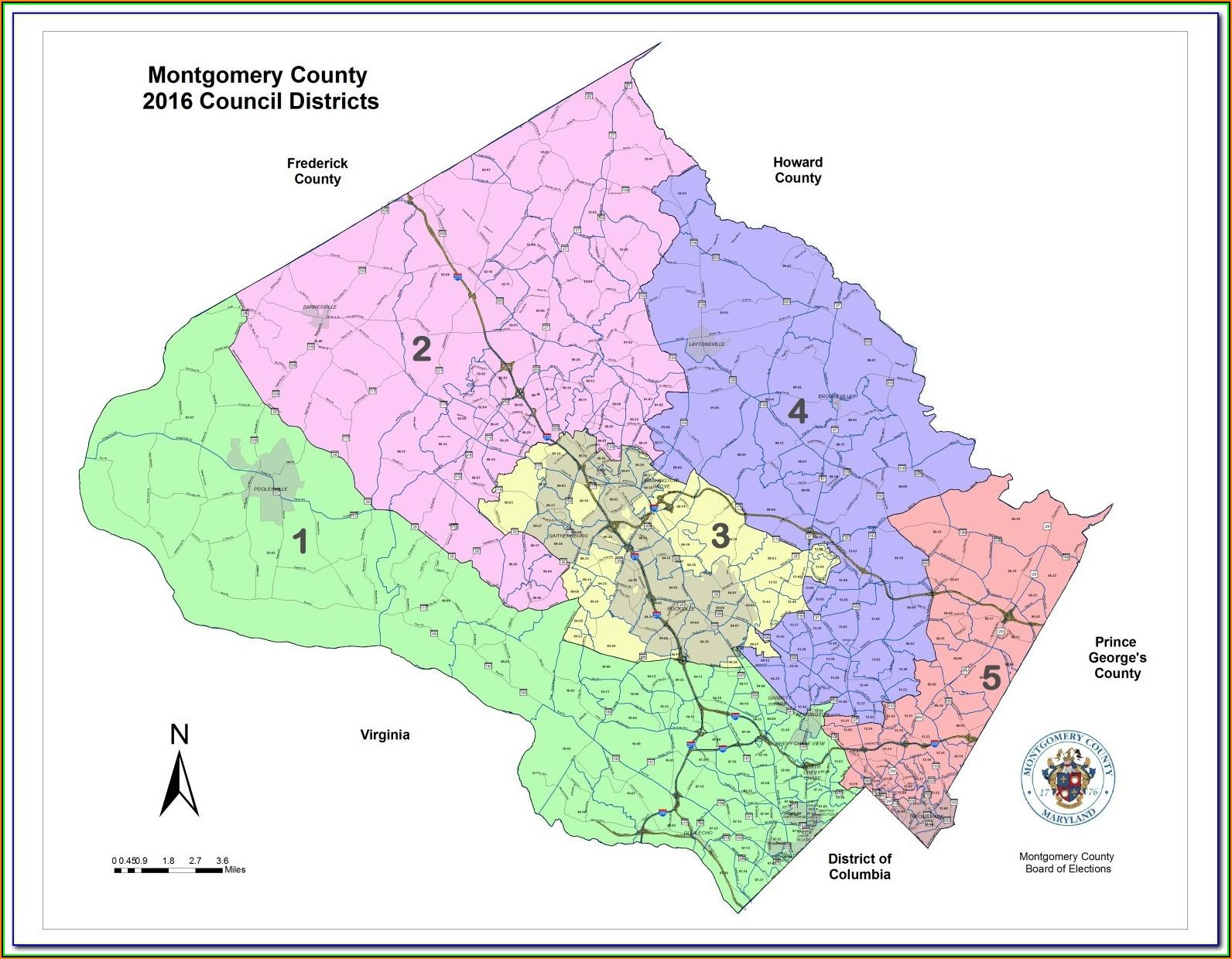 Montgomery County Texas Topo Maps
