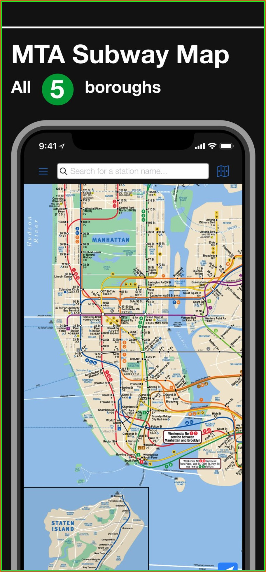 Mta Metro Map New York