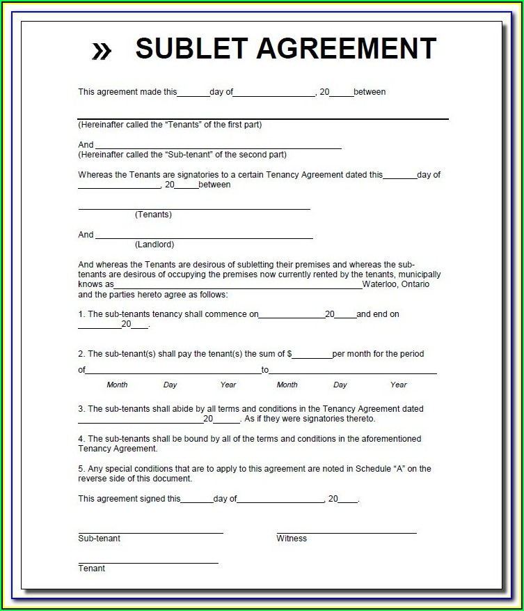 Oregon Room Rental Agreement Form