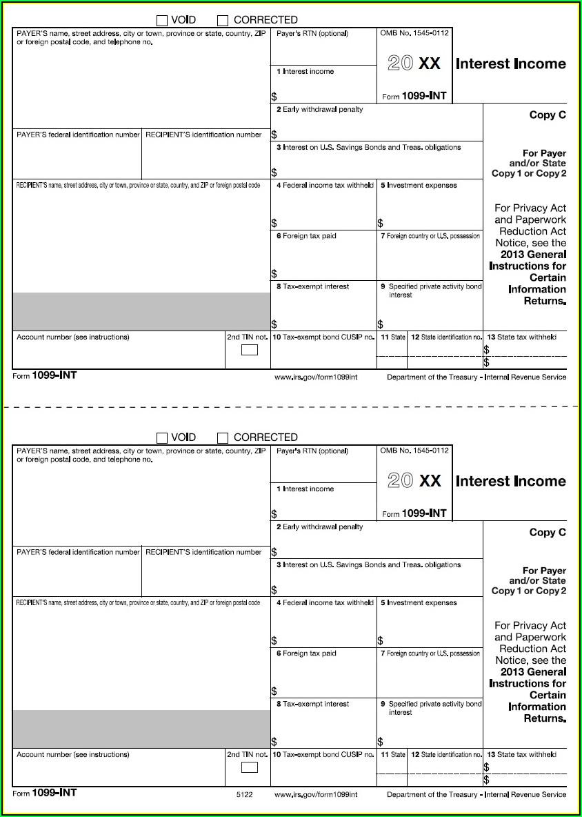 Printing 1099 Forms Free