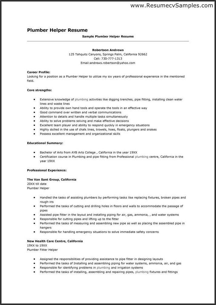 Resume Helper Templates
