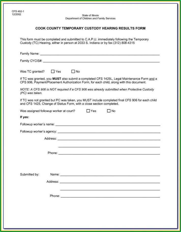 Sc Legal Guardianship Forms