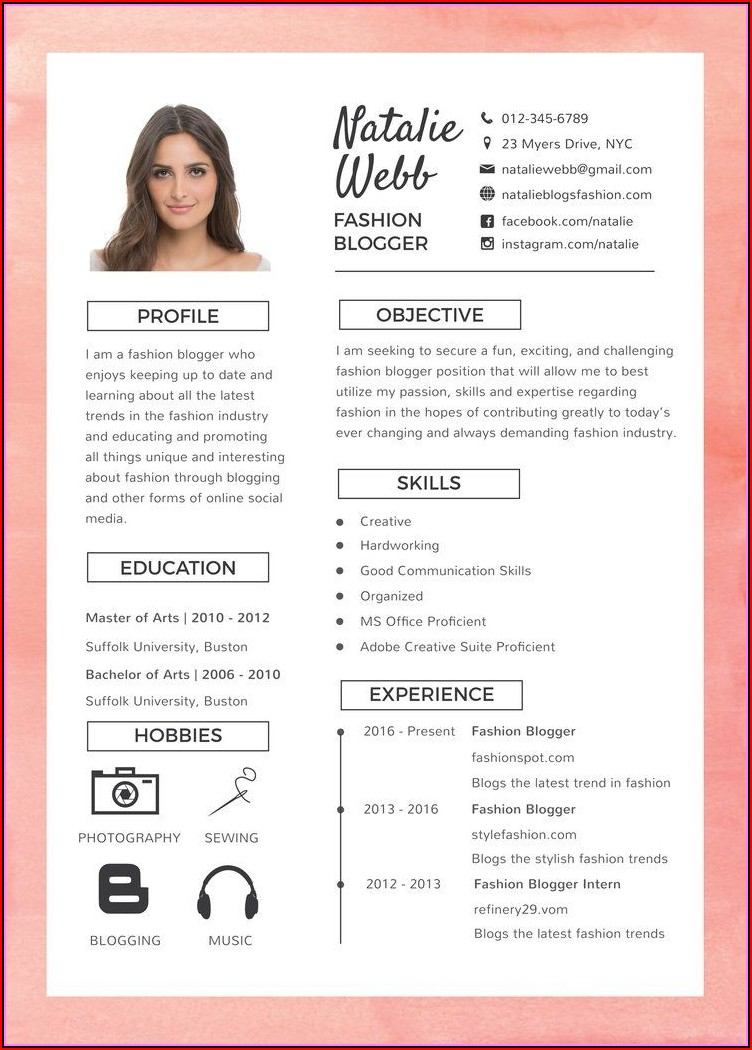 Some Best Resume Formats
