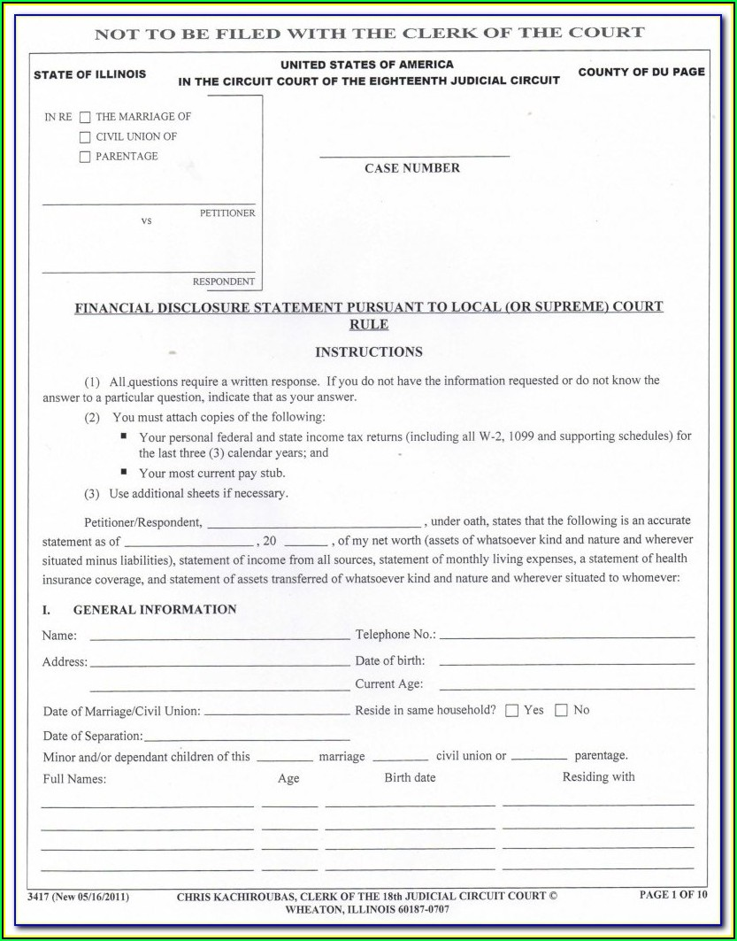 South Carolina Legal Separation Forms