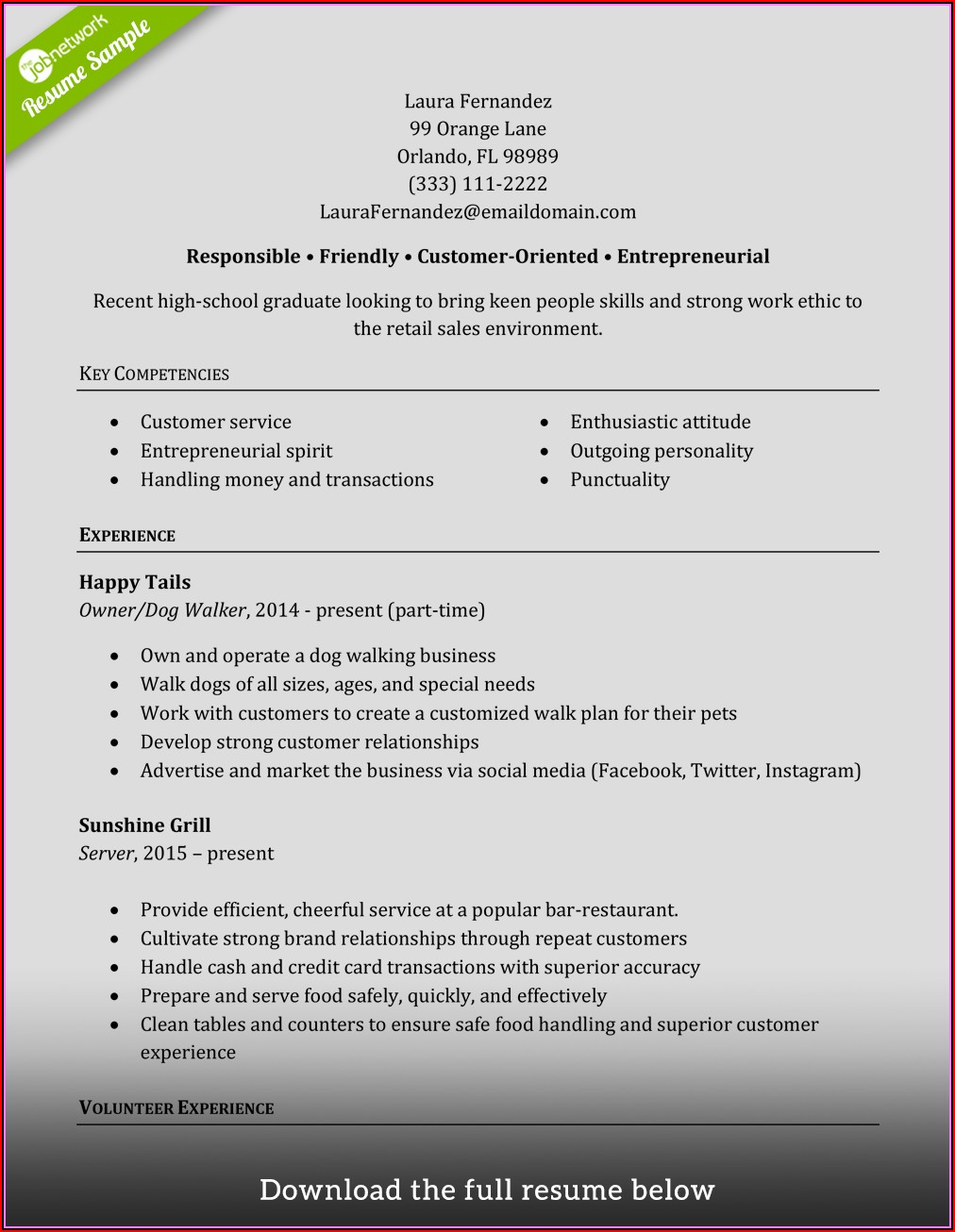 Tips For Writing A Sales Resume