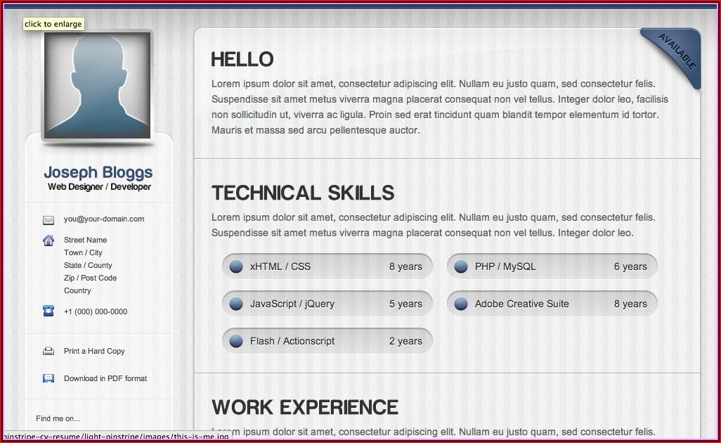 Totally Free Resume Maker