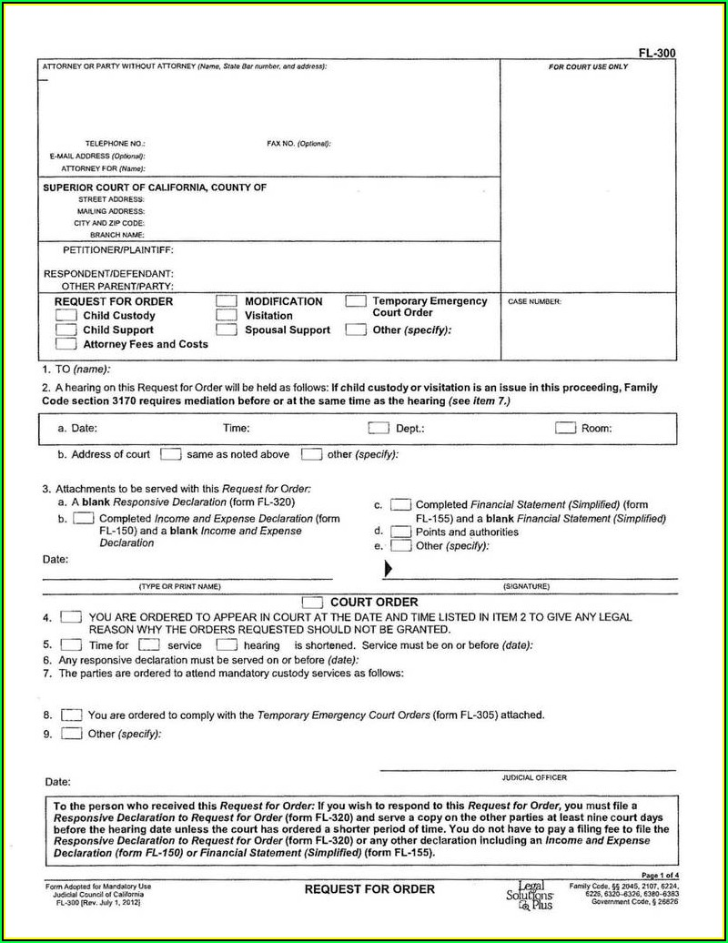 Uncontested Divorce Forms In Florida