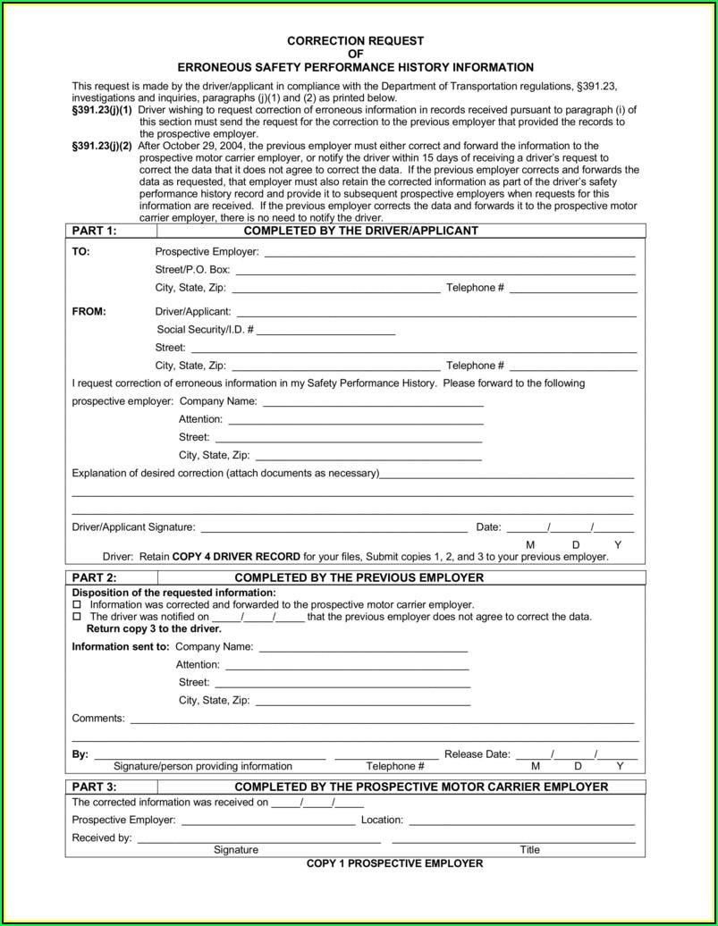 Usdot Mcs 150 Biennial Update Form