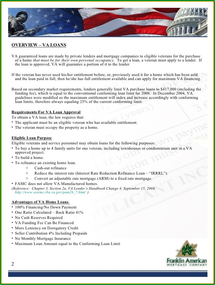 Va Form 26 8320 Certificate Of Eligibility