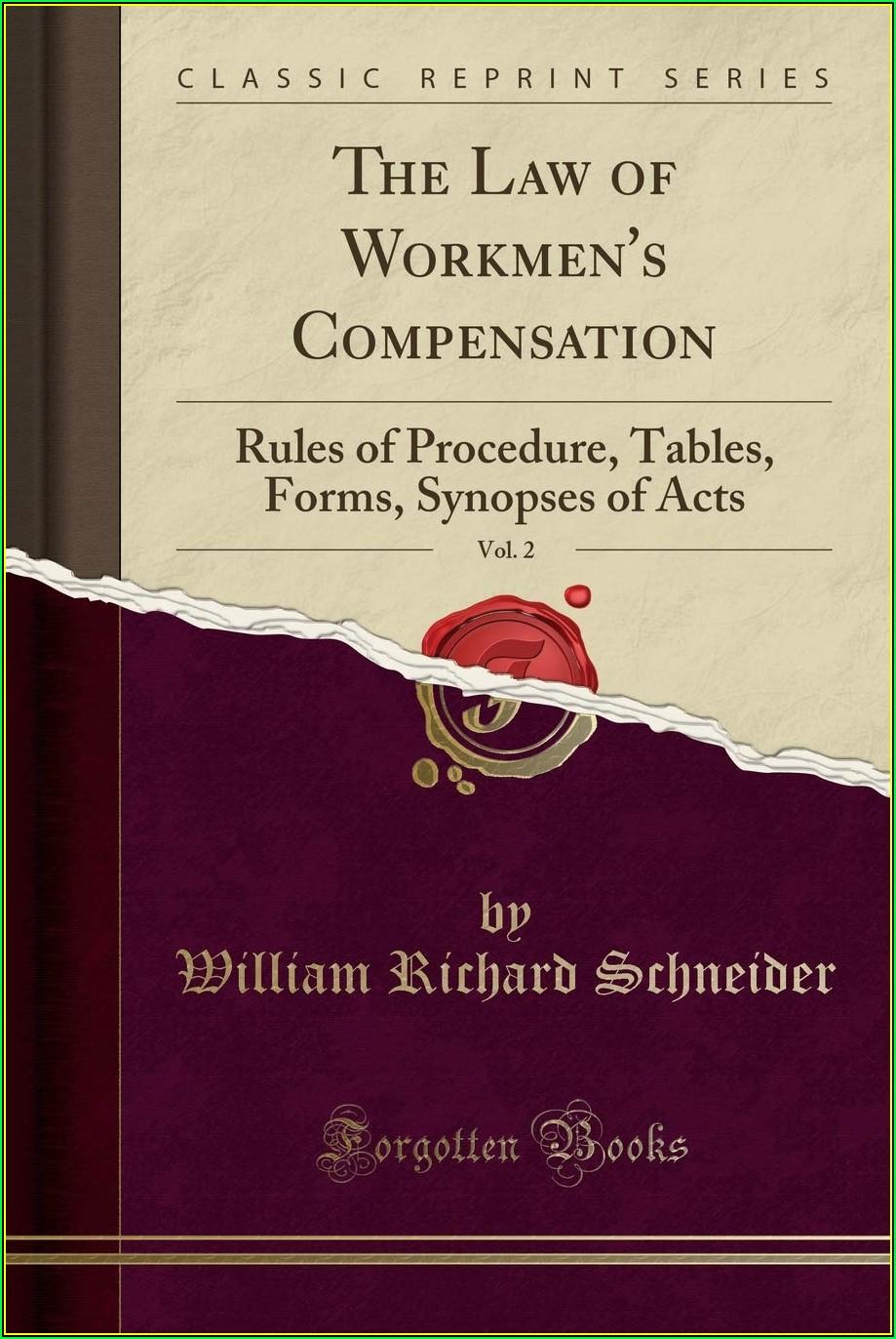 Workmen's Compensation Forms