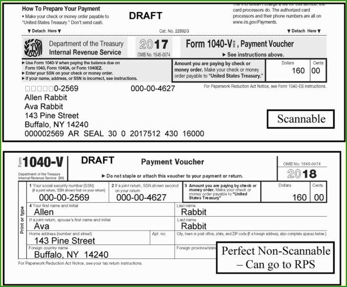 Www.irs.gov Form 1040 V