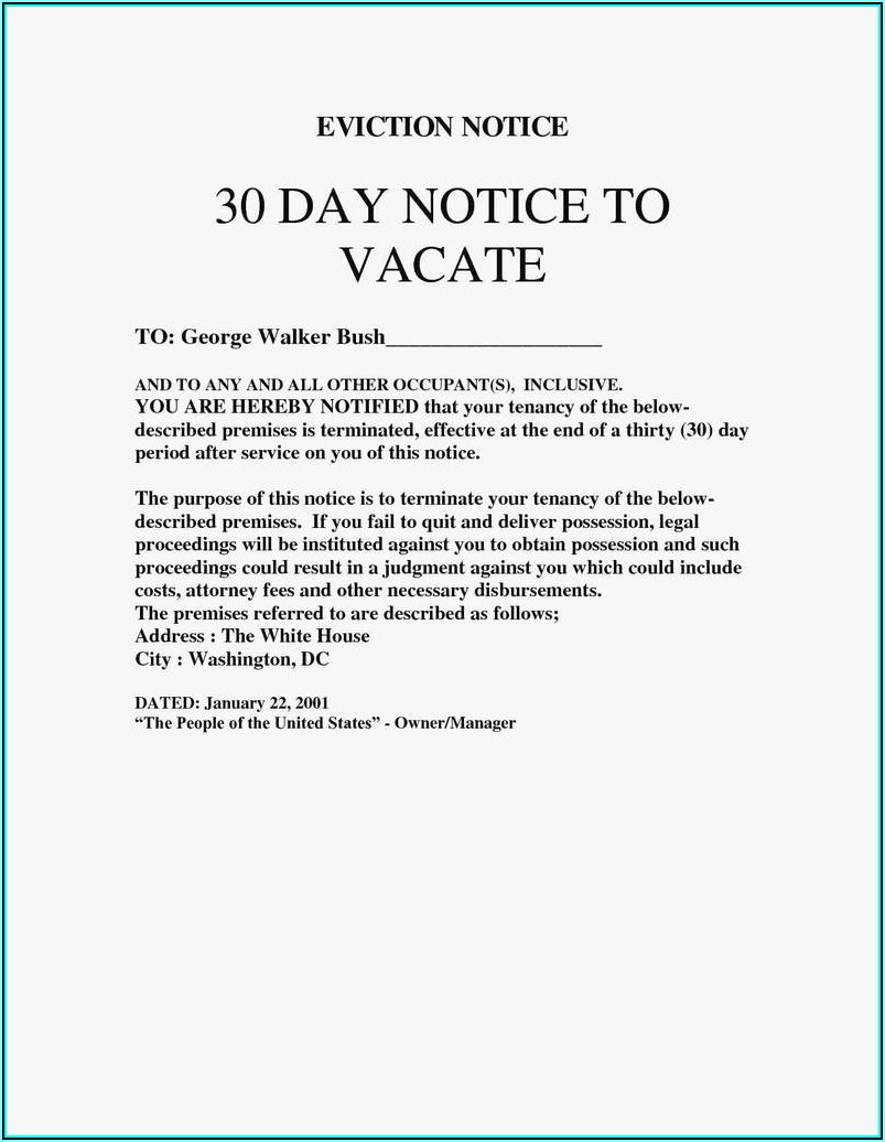 3 Day Notice To Pay Or Quit Form California Free