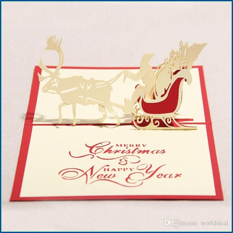 3d Christmas Cards Designs