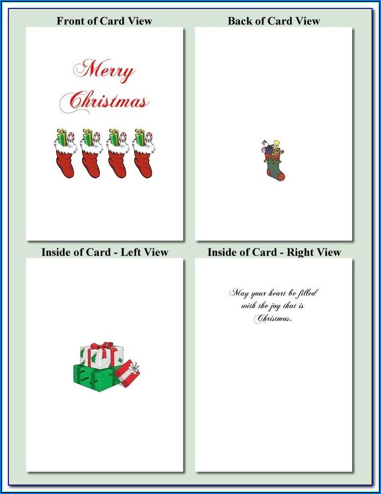 3d Xmas Card Templates