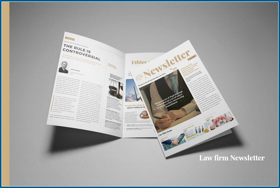 Adobe Indesign Newsletter Layout