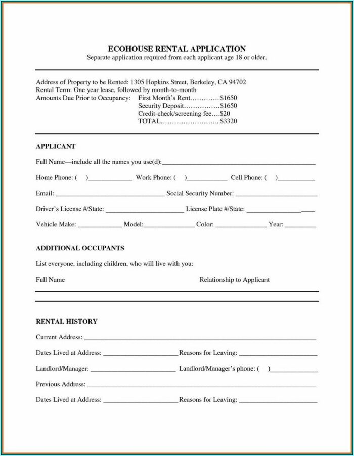 Aia A101 Form