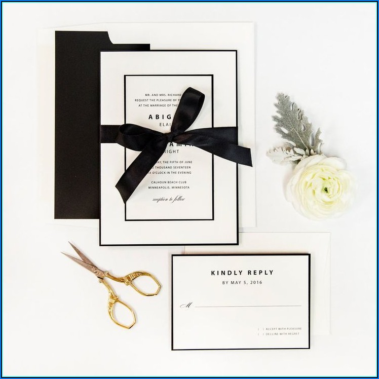 Art Deco Wedding Invitations Templates