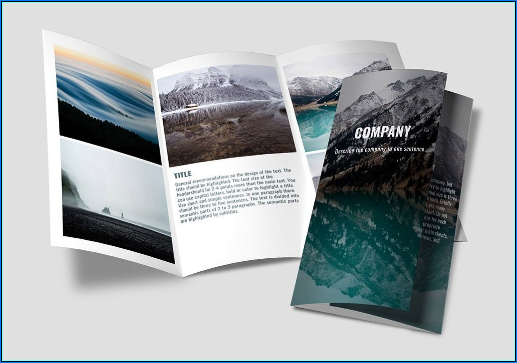 Brochure Template Builder