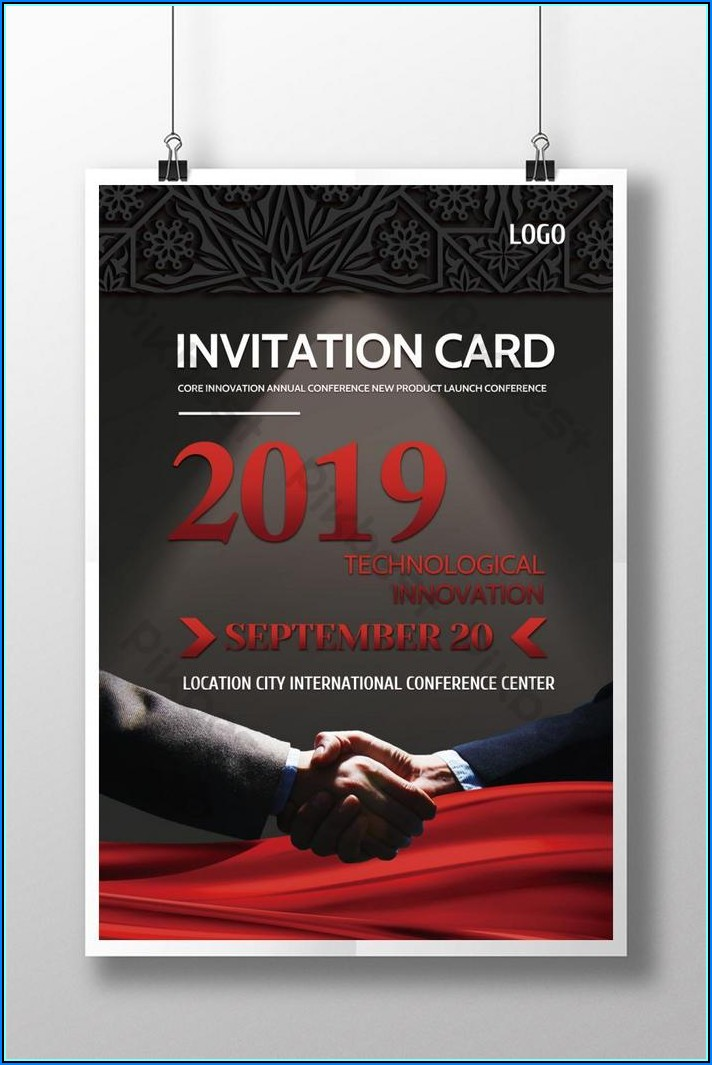 Business Event Invitation Templates Free Download