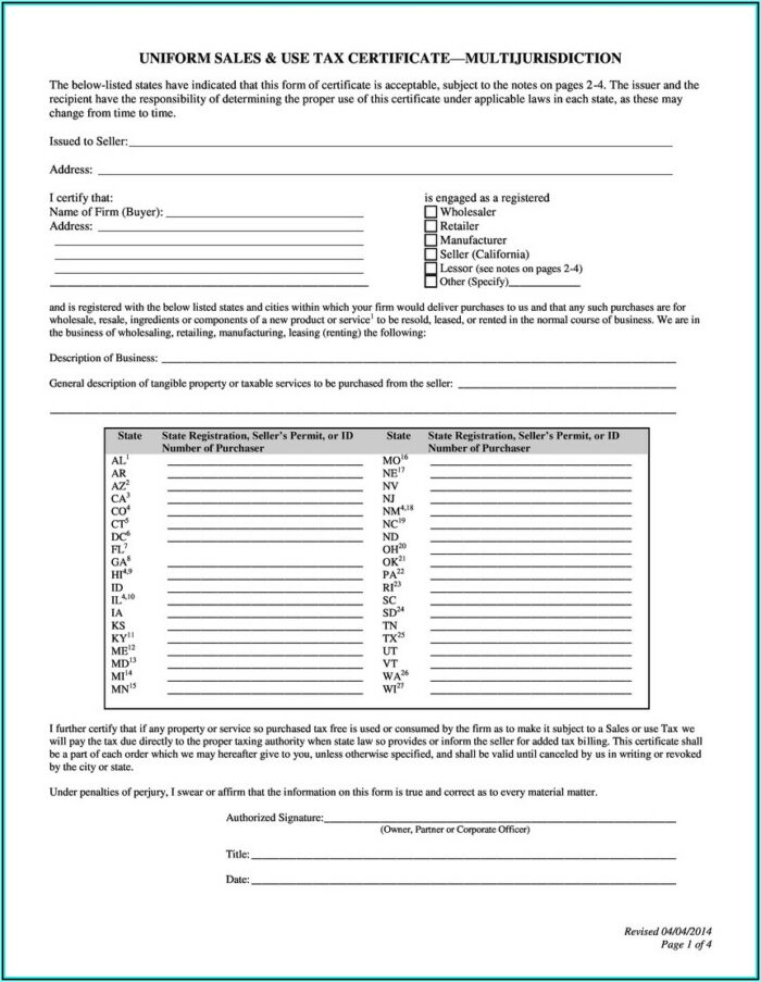 California State Tax Forms For Nonprofits