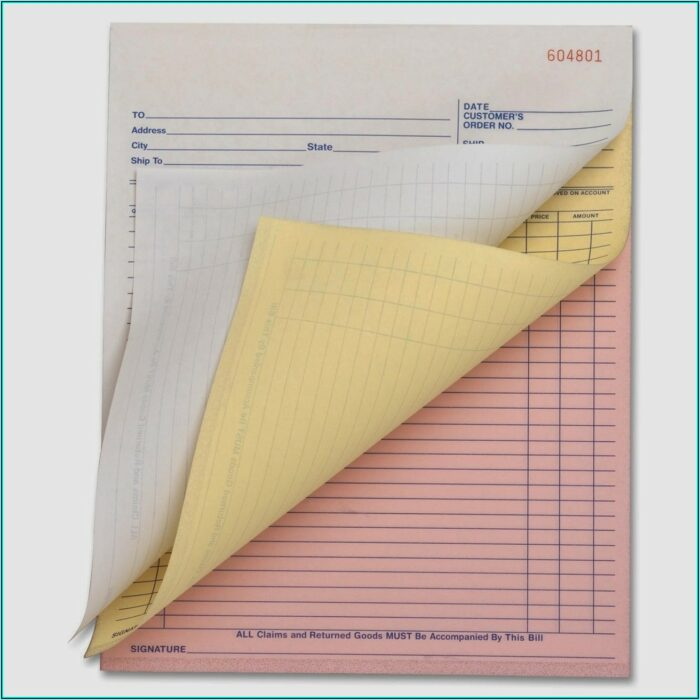 Custom Carbonless Business Forms