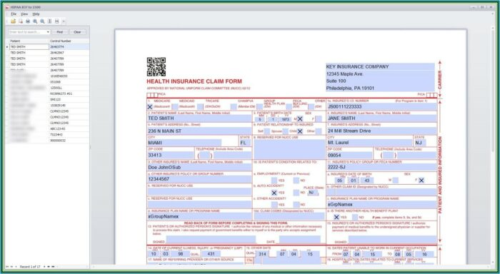 Example Cms 1500 Form Filled Out