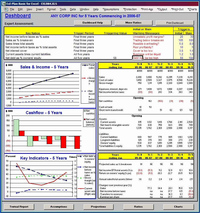 Financial Planning Fact Finder Template