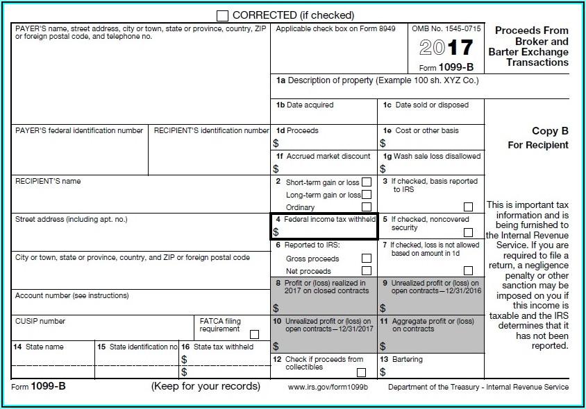 Form 1099 Tax