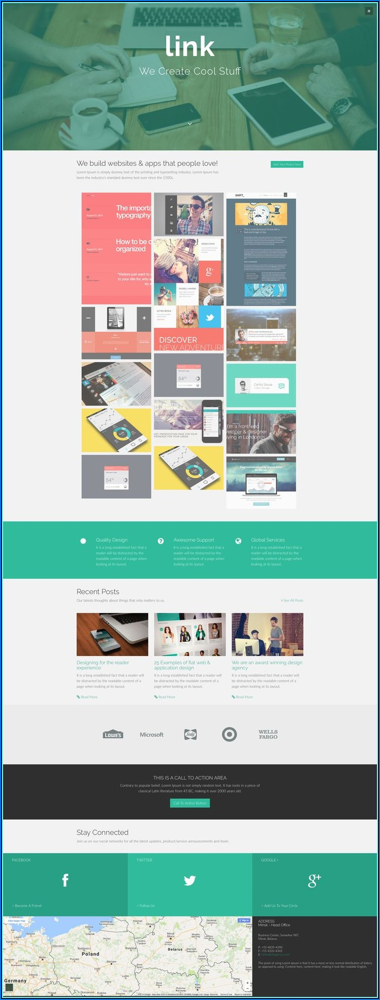 Free Bootstrap Html5 Responsive Website Templates