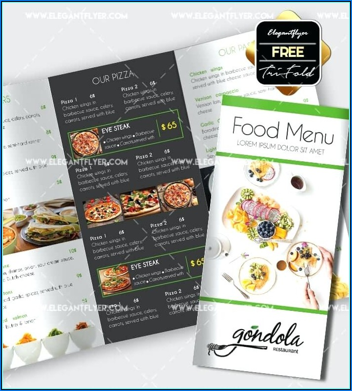Free Download 3 Fold Brochure Template