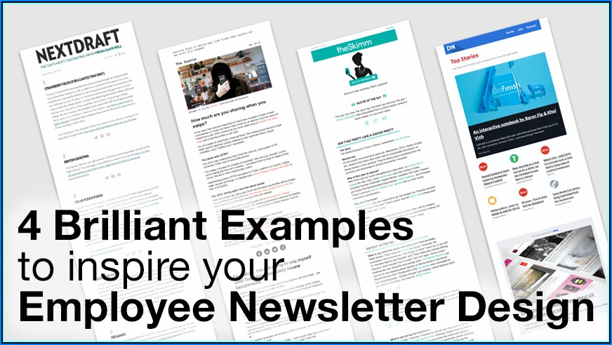 Free Employee Newsletter Templates Word
