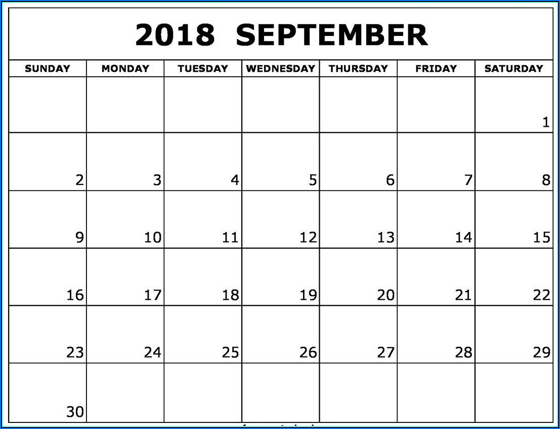 Free Monthly Appointment Calendar Templates