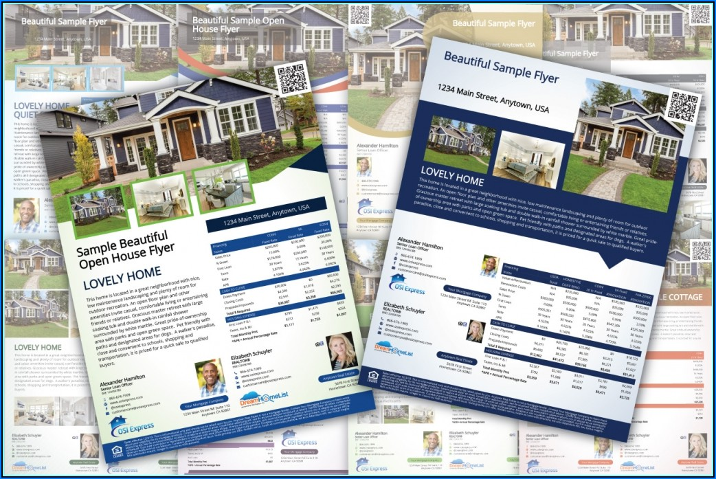 Free Open House Financing Flyer Template