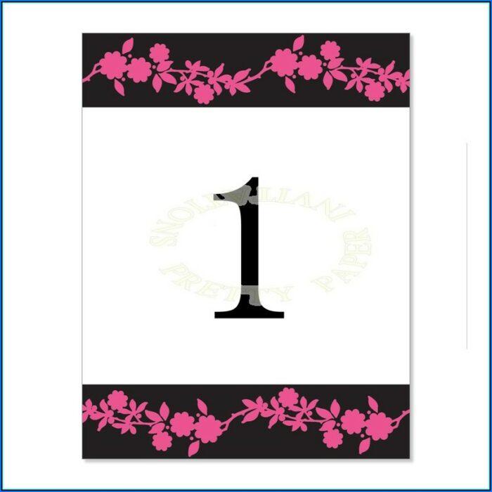 Free Pink And Black Invitation Templates