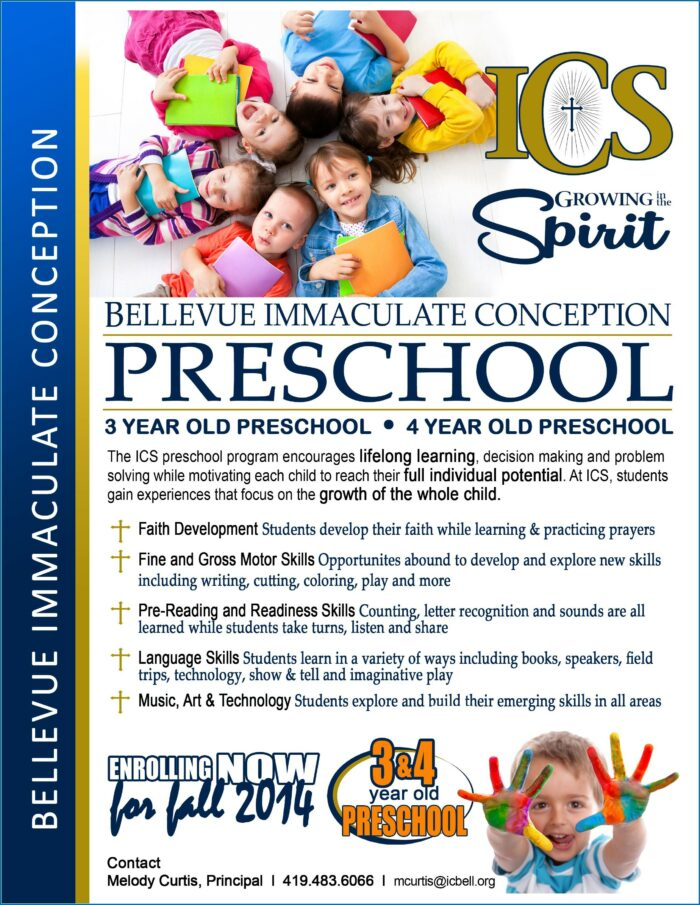 Free Preschool Open House Flyer Template