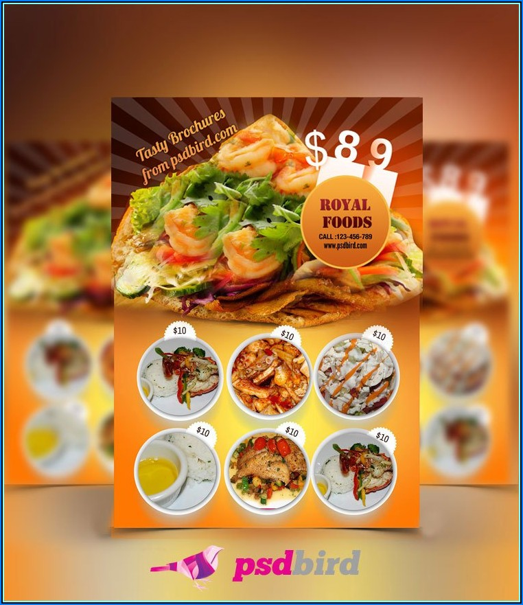 Free Restaurant Flyer Template Word